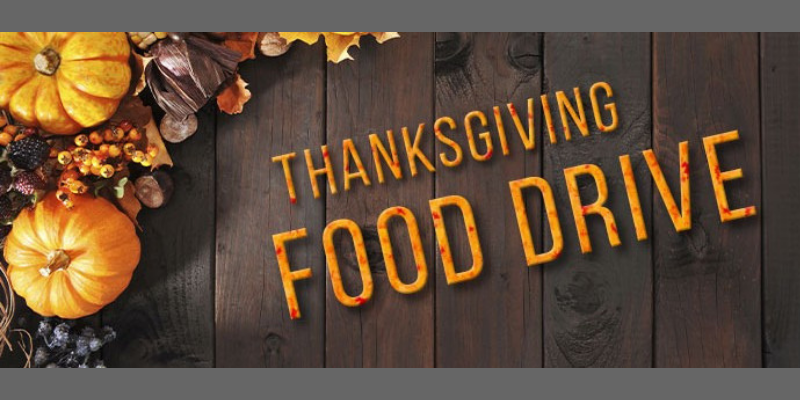 Thanksgiving food drive website